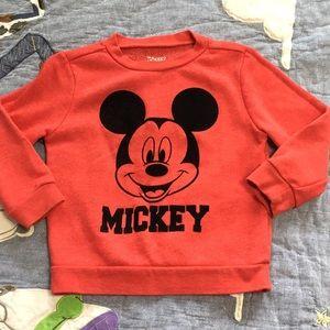 Disney Mickey sweat shirt 3t